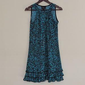 Dressbarn green/black Sparkly Dress
